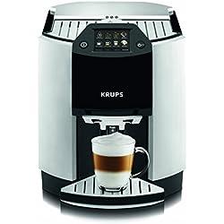 Krups EA9010 Automatic Espresso - Cafetera automática (pantalla táctil), color blanco [Importado de Alemania]