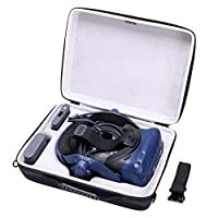 LTGEM EVA Hard Case for HTC VIVE Pro Virtual Reality Headset - Travel Protective Carrying Storage Bag
