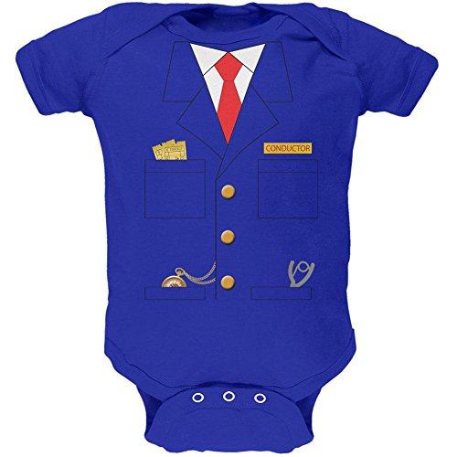 Halloween Zug Dirigent Kostüm Royal weiches Baby 1 Gepäckstück - 3-6 Monate (Halloween Kostüme Für Babys 06 Monate)