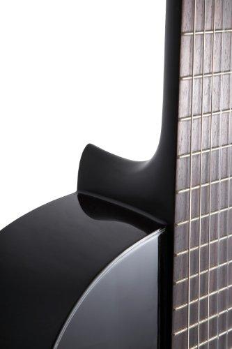 "Yamaha C40 II Klassische Gitarre - Holz 4/4 Gitarre, 65 cm 25 9/16 "", 6 Nylonsaiten, Schwarz (glänzend)"