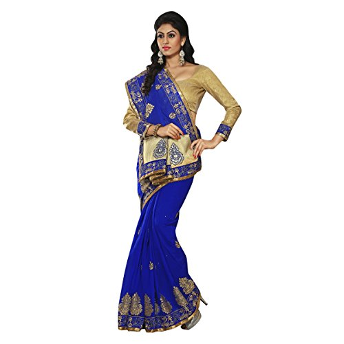 triveni-regal-couleur-bleue-border-travaille-chanderi-saris-en-soie