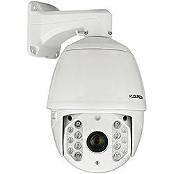 FLOUREON HD616 1080P Dome IP Kamera Überwachungskamera PTZ 30X ZOOM IR-CUT 14 IR LED 120M Nachtsicht CCTV Sicherheitskamera Wasserdicht IP Cam Outdoor Netzwerkkamera Bewegungsmelder