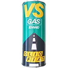 OLIO AUTO FIAT VS GAS 15W40 LT.1 - Specifico per auto alimentate a gas e metano