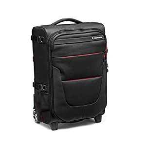 Manfrotto MB PL-RL-A55 Pro Light Reloader Air-55 Carry-On Camera Roller Bag - Black