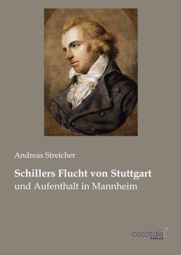 Schillers Flucht von Stuttgart por Andreas Streicher