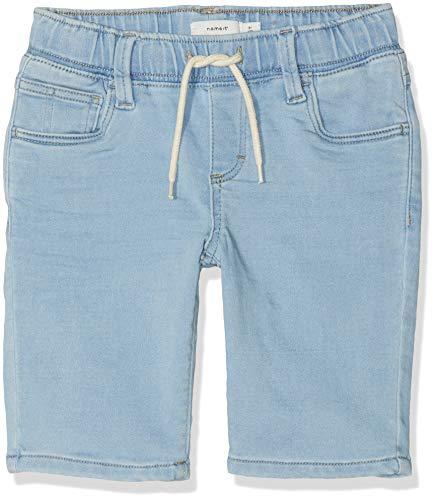 NAME IT Jungen NKMRYAN DNMARLAN 1202 SWE Long Shorts, Blau (Light Blue Denim), (Herstellergröße: 146) Long Blue Denim