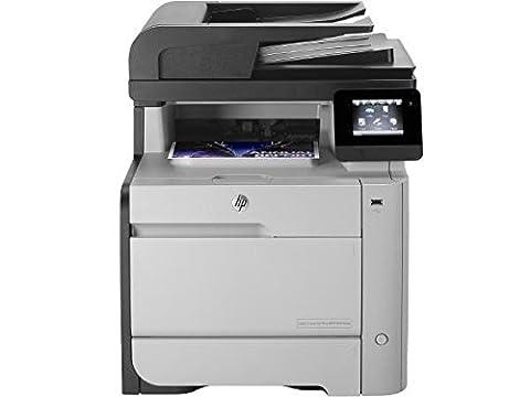 HP MFP M476dw Color LaserJet Pro Farblaserdrucker (Drucken, scannen, kopieren, faxen, 600x600 dpi, USB 2.0, Duplex) (ML) grau/schwarz
