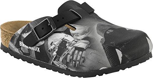 BIRKENSTOCK BOSTON scarpe sandali ciabatte (26 EU, KYLO REN BLACK)