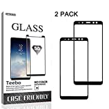 Compatible Models: ONLY Fit for Samsung Galaxy A8 Plus 2018. Color:Black Border Specially Feature:  Full Black Glue Protect your phone,[Edge to Edge]2.5D Round Edge, 9H Hardness,0.33MM Thickness, and with Anti-oil,coating, avoid smudges and reduce th...