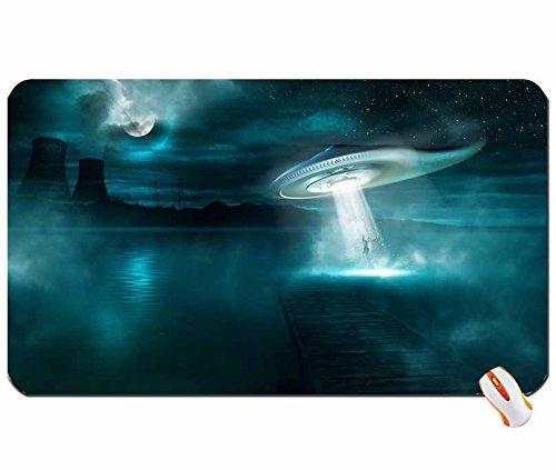 Menschen Fantasy Art tagnotallowedtoosubjective Aliens Big Mauspad Maße: 60x 35x 0,2cm