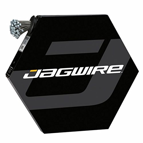JAGWIRE BASICS   CABLE DE FRENO GALVANIZADO COMPATIBLE CON SRAM Y SHIMANO  100 UNIDADES (1 2 X 2300 MM)