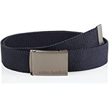 Urban Classics Canvas Belts, Cintura Unisex-Adulto