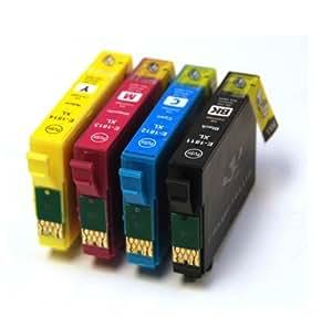 E-1816 Full Set of Compatible 18XL Ink Cartridges E1811 E1812 E1813 E1814 Equivalent to Daisy Series