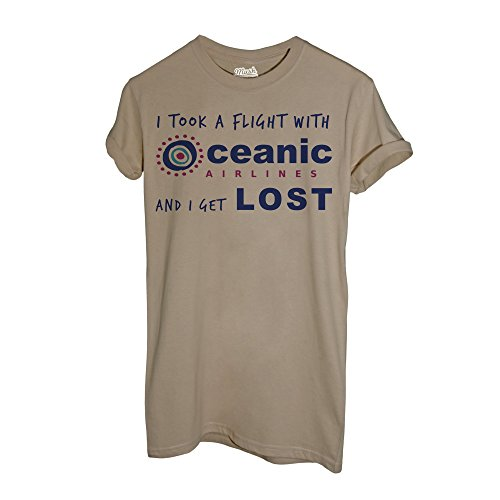 MUSH T-Shirt Lost - Volo Oceanic - Film Dress Your Style Sand