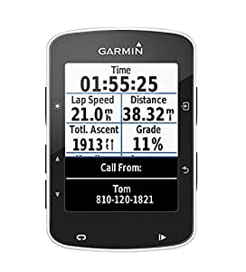 Garmin Edge 520 GPS Bike Computer Without Heart Rate Monitor, Black, 7.3cm x 4.9cm x 2.1cm