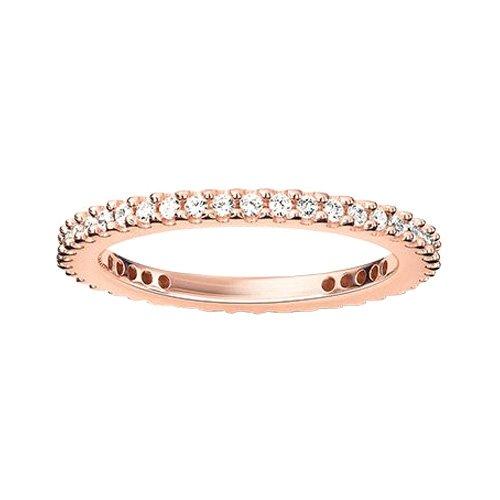 Thomas Sabo Damen-Ring Silber vergoldet Zirkonia weiß Gr. 56 (17.8) - TR1980-416-14-56 (Ehering Plata)