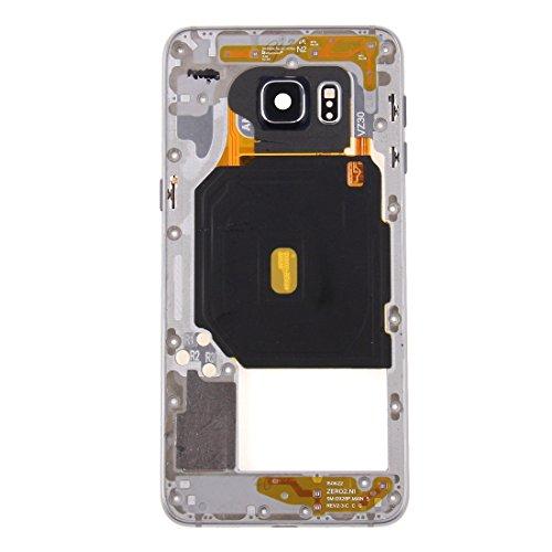 DASHOU Komponenten for Samsung Eye Frame Lünette for Galaxy S6 Edge + / G928 (Pink) (Farbe : Silver)