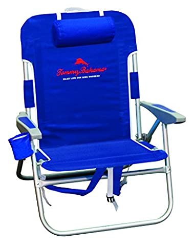 Tommy Bahama Big Boy Backpack Chair Navy