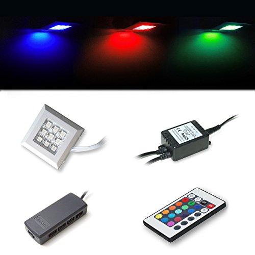 LED RGB Unterbaubeleuchtung 2er Set