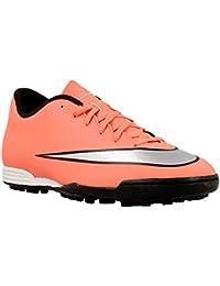 Scarpe sportive rosse per unisex Nike Mercurial Vortex