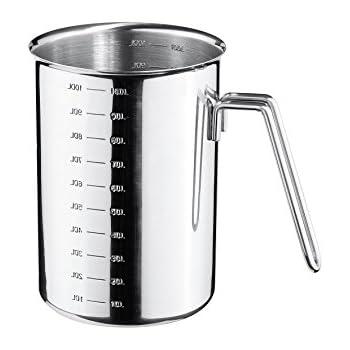 WMF Gourmet Messbecher, 1,0 l, hitzebeständiges Glas