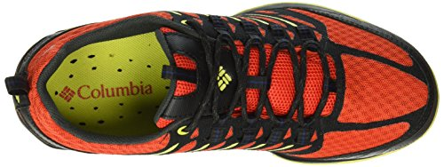 Columbia VENTRAILIA RAZOR OUTDRY, Chaussures de Randonnée Basses homme Rouge (Spicy/Lux 839)