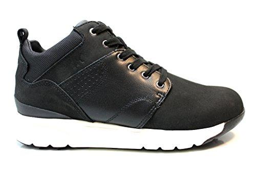 Lumberjack Sm34505 Amarillo Y Negro Sneakers Shoes Mens Cómodo Calzado Amarillo