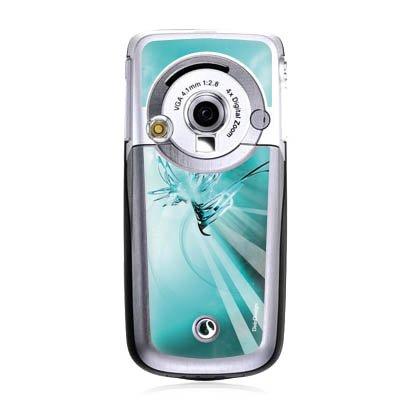 Preisvergleich Produktbild Sony Ericsson K700i Case Skin Sticker aus Vinyl-Folie Aufkleber Space Universum Abstrakt