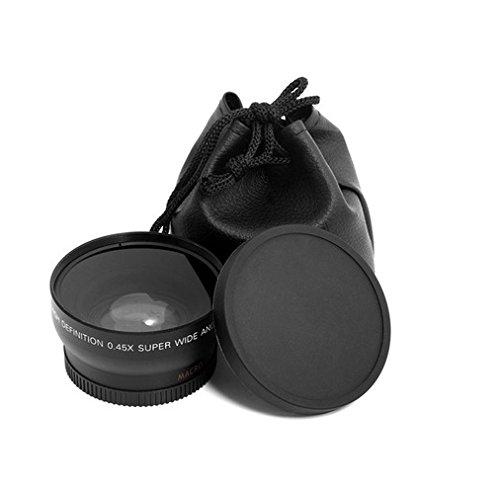 HD 720P Wide 52MM-Lens 0.45x Photo HD Wide Angle Lens