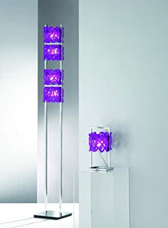 Paul Neuhaus 609–86Lampadaire 4x G9/40W Violet