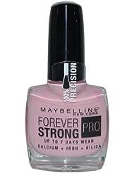 Maybelline Forever Strong Pro 145Porcelaine Rose Vernis à ongles 10ml