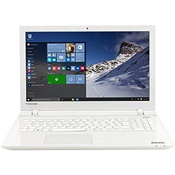 "TOSHIBA Satellite L50-C-1GX 15.6"" Laptop - WHITE - Intel® Pentium® Processor N3700 8GB Ram 1TB HDD Windows 10 (Pre -Installed)"