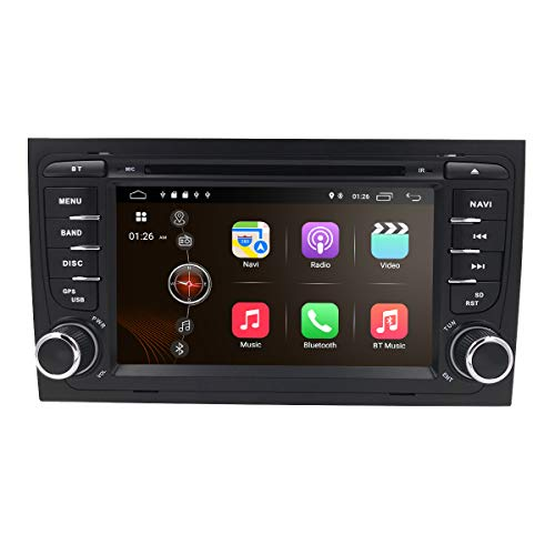 Android 7.1 in Dash GPS DVD Player for Audi A4 S4 RS4...