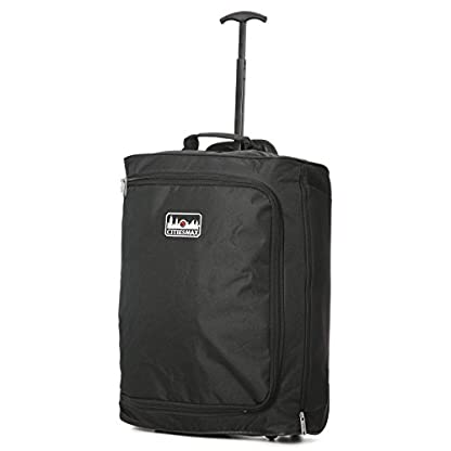 Máxima de Ryanair equipaje de mano 4piezas Set–2x 55x 40x 20cm Trolley Bolsa + 2x 35x 20x 20cm 2nd cabina bolsa–Pack tanto la Max & Take A bordo.