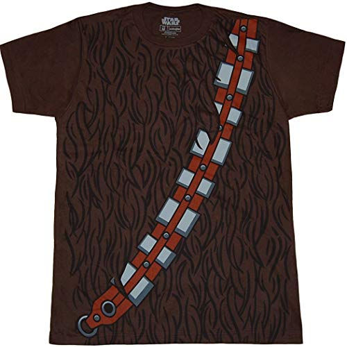 Star Wars I Am Chewbaca Herren Braun Kostüm -