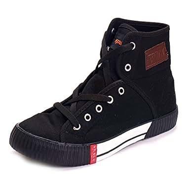 Sparx Mens Anklet Canvas Shoes ( SM-106-BLACK-7 )