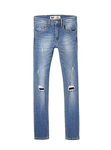 Jeans levis 519 rotto per bambino 14a blue