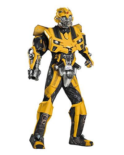 Transformers Bumblebee Für Erwachsene Kostüme - Bumblebee Deluxe Kostüm Transformers Hochwertiges Kostüm