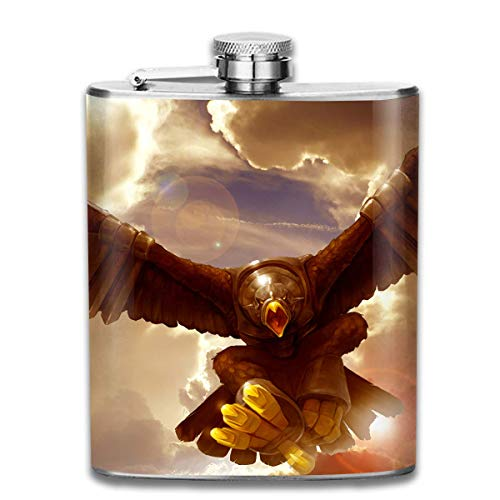 deyhfef Giant Wing Eagle Wine Water Hip Flask for Liquor Stainless Steel Bottle Alcohol 7oz