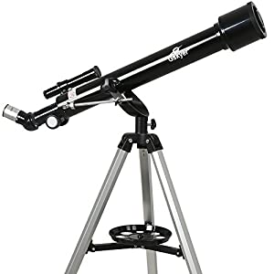 Gskyer Telescope 60mm Aperture 700mm AZ Mount Astronomy Refractor Telescope, Scope with Smartphone Adapter and Bluetooth Camera Remote for Kids & Beginners