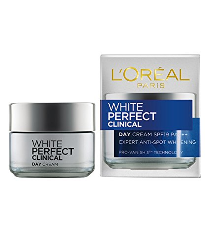 L'Oreal Dermo-Expertise White Perfect Laser All-Round Protection Whitening Cream SPF19 PA+++ 50ml