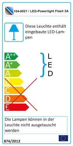 Wohnwand Anbauwand Weiß, Fronten Hochglanz, optional LED-Beleuchtung, Beleuchtung:mit Beleuchtung - 3