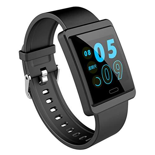 VRTUR Watch GT Bluetooth Smartwatch Touchscreen, GPS, Fitness Tracker, Herzfrequenzmessung Fernkamera Bluetooth-Anruf Sporturh Schwarz