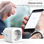 Presa-Intelligente-WiFi-Smart-Mini-Plug-Spina-Compatibile-con-Google-HomeAmazon-AlexaIFTTTTECKIN-Controllo-Remoto-Funzione-di-Temporizzazione-Presa-Wireless-per-iOS-Android-App-2-pezzi