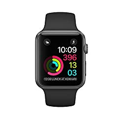 Apple Watch Series 2 38mm - Space Grey Aluminium Case With Black Sport Band