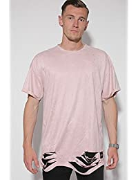 Sixth June Homme Hauts / T-Shirt Destroyed Overside Suede