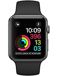 Apple Watch Series 2 42mm - Space Grey Aluminium Case with Black Sport Band