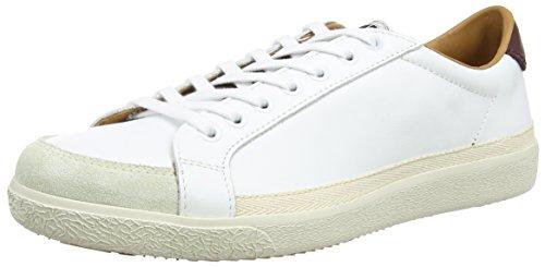 Pantofola d'Oro Legend Low, Baskets Basses homme Blanc - Weiß (02L BIANCO/LAMB)