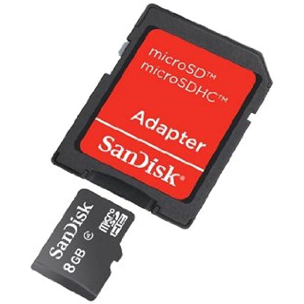 Sandisk Microsdhc 8gb Class 4 Speicherkarte Computer Zubehör