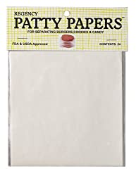 Regency Hamburger Patty Papers, 24 Count